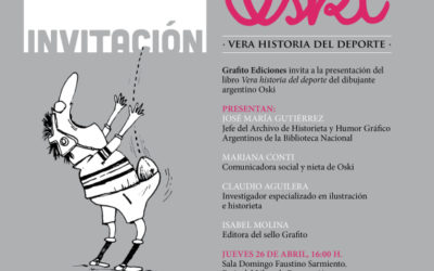 Presentación Vera historia del deporte en Feria del Libro de Buenos Aires
